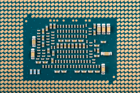 connectors: Computer CPU Chip Connectors