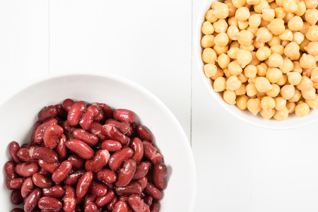 Canned Red Kidney Beans And Chickpeas