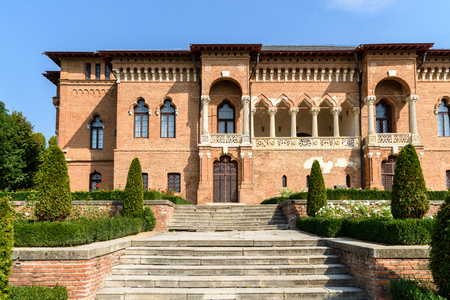 constantin: Mogosoaia Palace Was Built In Romania Between 1698-1702 By Constantin Brancoveanu In Romanian Renaissance style or Brancovenesc style. Editorial