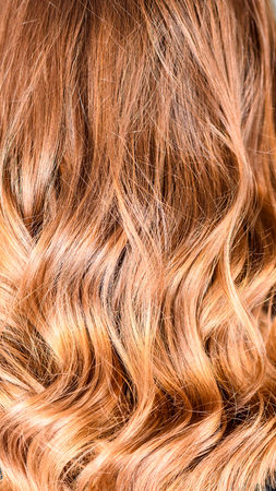 Honey Balayage Hair Texture