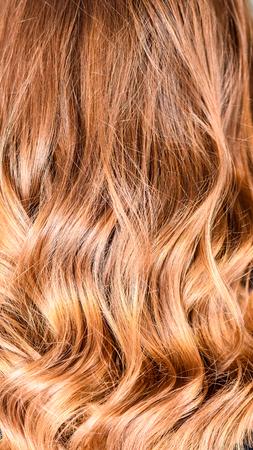 Honey Balayage Hair Texture