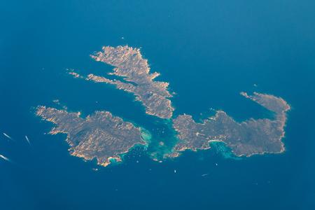 Satellite View Of Earth Islands In Mediterranean Sea