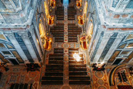 Estrela Basilica (Royal Basilica and Convent of the Most Sacred Heart of Jesus) In Lisbon, Portugal