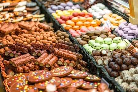 Sweet Chocolate For Sale In Spanish Market