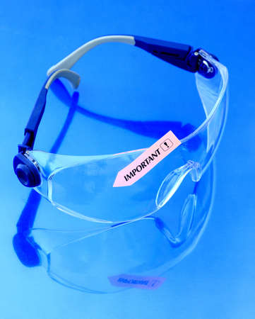 safety googles: work safety goggles, very important in some dangerous conditions
