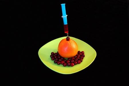vitamines: health from fruits, alternative medicine, source of vitamines