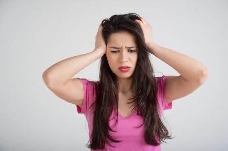 viral headache in women