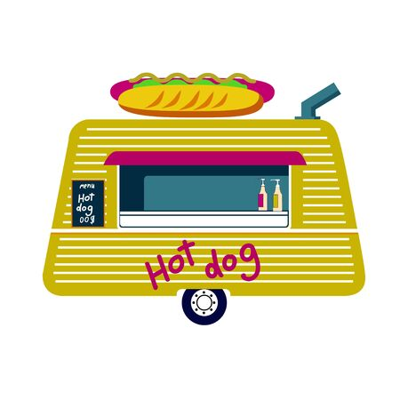 Food Truck Vector Icon