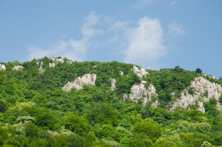 Mountains and hills around Sokobanja Stock Photo - 21912287