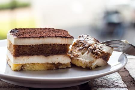 Tiramisu Cake. Tiramisu