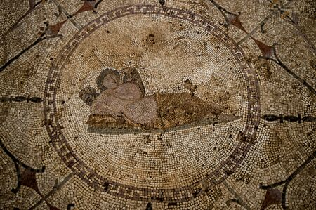 paganism: Hypnos - the personification of sleep, Risan, Montenegro