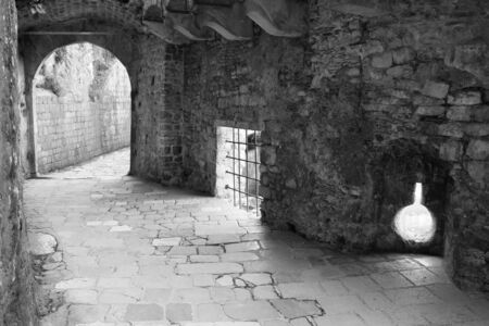 Entrance to the old town of Kotor photo