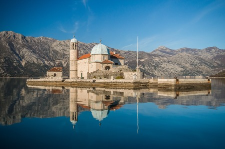 church of our lady: Church Our Lady of the Rocks in Perast