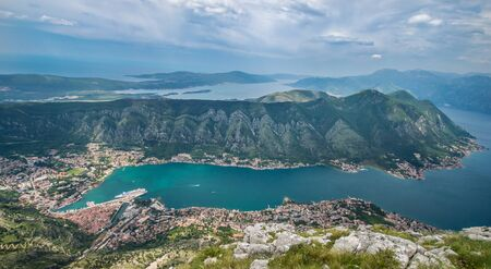 Boka bay, view from the mountain