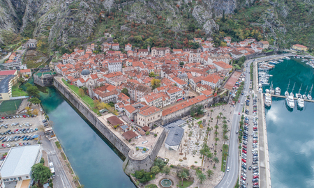Old town of Kotor view from above