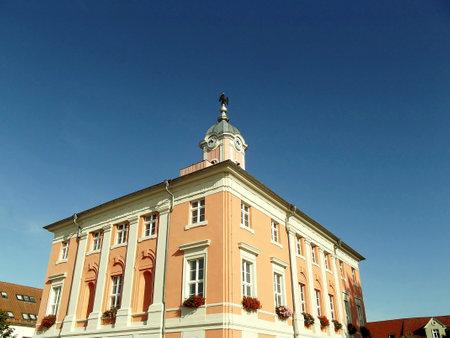 City hall of Templin Stock Photo - 12124992