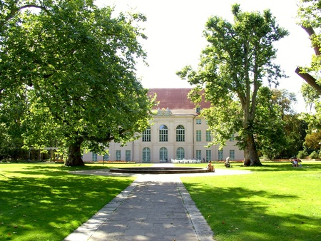 Baroque castle Schionhausen