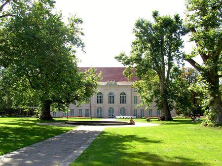 Baroque castle Schonhausen