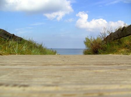 Baltic Sea Beach of Trassenheide