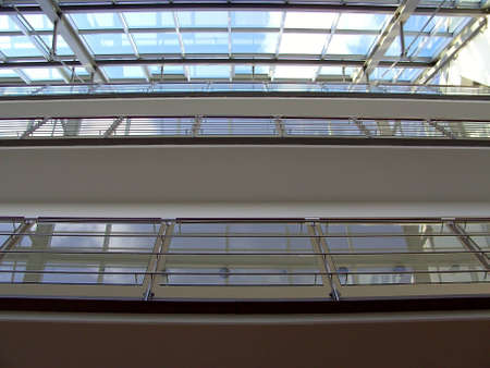 Skylight in the Department store