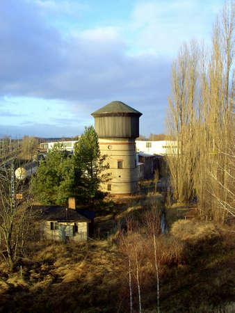 """wody wieży: Wieża ciÅ›nieÅ"""" w Angermnde Zdjęcie Seryjne"""