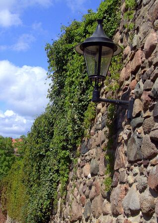 Historic city wall of Templin  photo