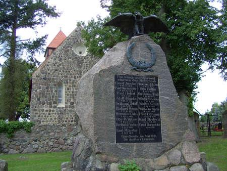 privy: War Memorial in Gandenitz