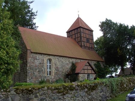 Peter and Paul Church in Gandenitz  Stock Photo