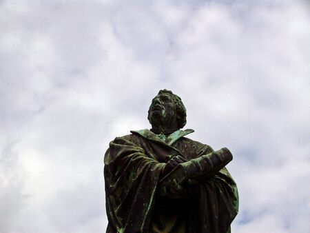 Martin Luther monument in Prenzlau
