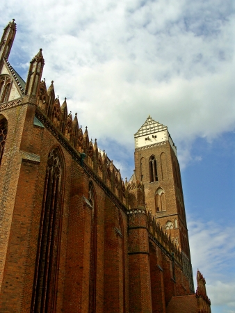 Saint Marien church Prenzlau