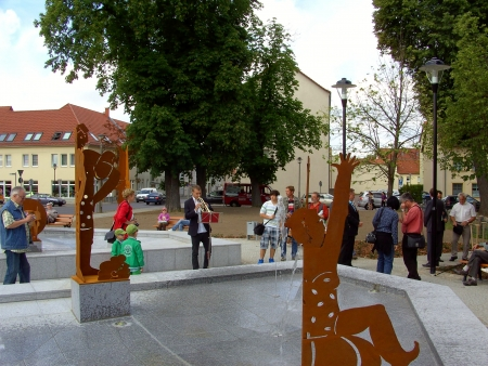 inauguration: Inauguration of fountain