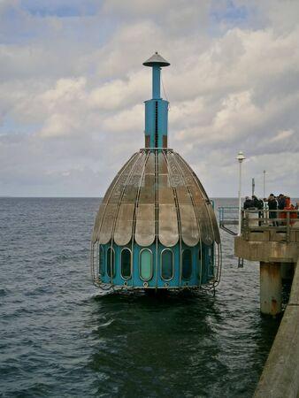 Diving-bell in Zinnowitz Stock Photo