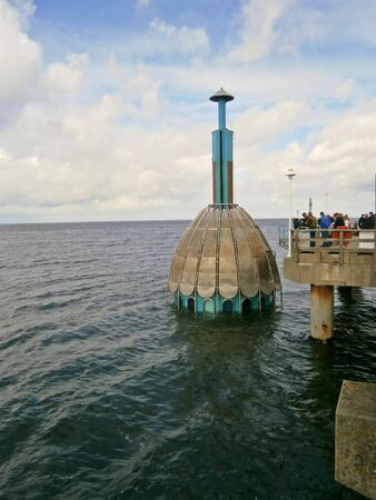 Diving-bell in Zinnowitz Zdjęcie Seryjne