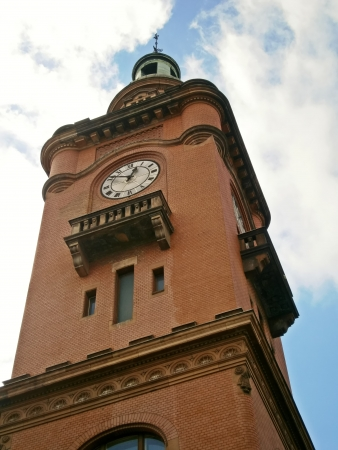 Tower of the Town Hall in Berlin Pankow  photo