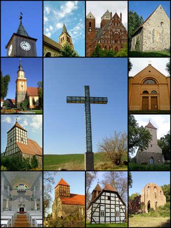 Churches of the Uckermark  Stock Photo