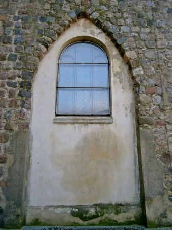Window of the Maria-Magdalenen church Stock Photo - 16516521