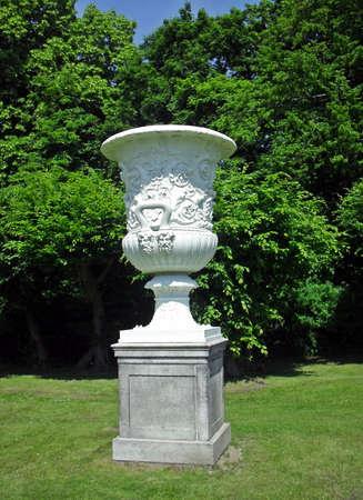 drake: Drake-Vase Stock Photo