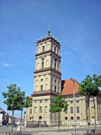 pilasters: City Church of Neustrelitz
