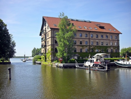 City port of Neustrelitz