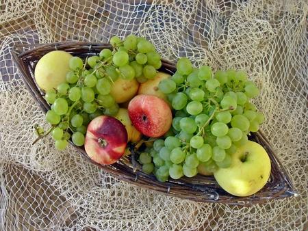 fruitmand: De Fruitmand Stockfoto