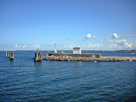 Harbor entrance