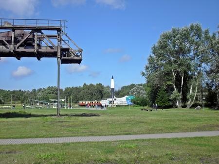 Launch facility at Peenemunde
