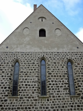 gibel: Gibel the Ev  St  John s Church Lychen Stock Photo