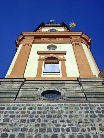 The tower of St  Mary Magdalene Church in Templin