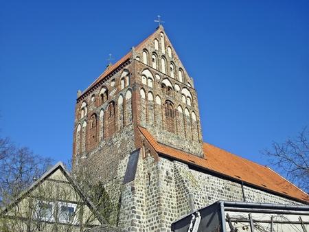 patronage: Ev Saint John Church Lychen Stock Photo