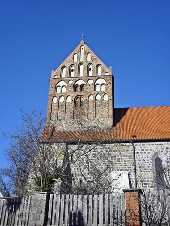 Ev Saint John Church Lychen Stock Photo
