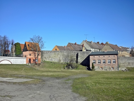 Historical cityl of Lychen