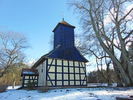 gabled: Church in the forest