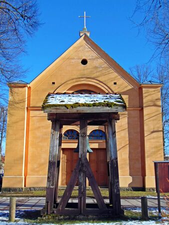 gabled: Village church Annenwalde