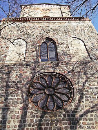evangelical: Evangelical St. Jacobi Church in Prenzlau Stock Photo